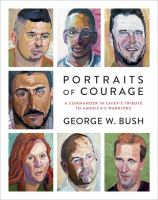 Cover art for Portraits of Courage