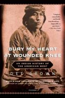 Cover art for Bury My Heart at Wounded Knee