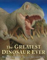 Cover art for The Greatest Dinosaur Ever