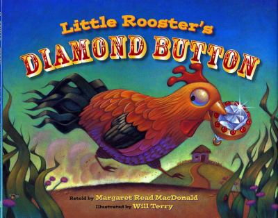Cover image for Little Rooster's diamond button