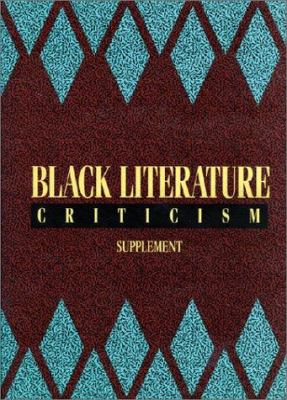 Cover art for Black Literature Criticism