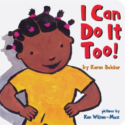Cover image for I can do it too!