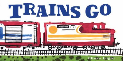Cover image for Trains go