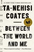 Cover art for Between the World and Me