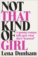 Book cover: Not That Kind of Girl