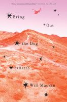 Cover art for Bring Out the Dog