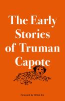 Cover of The Early Stories of Truman Capote