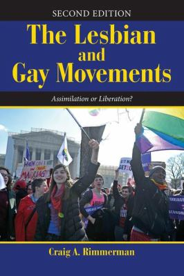Book jacket The Lesbian and Gay Movements