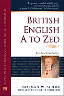 Cover Art for British English A to Zed