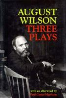 Three Plays by August Wilson incl. Fences (book cover)