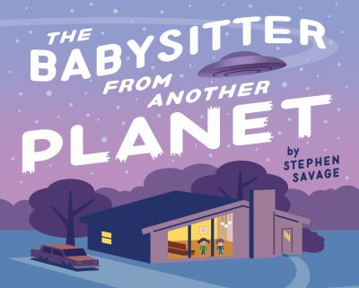 Cover image for The babysitter from another planet