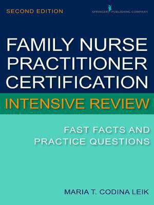 Cover for Family Nurse Practitioner Cerftification Intensive Review eBook