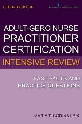 Cover for Adult-gerontology nurse practitioner certification intensive review eBook