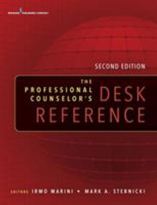 Book jacket for The Professional Counselor's Desk Reference