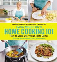 Cover art for Sara Moulton's Home Cooking 101