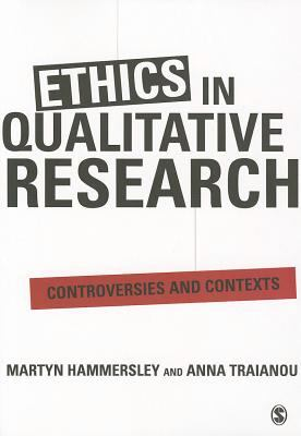 Book jacket for Ethics in Qualitative Research: Controversies and Contexts