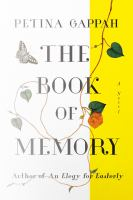 Cover art for The Book of Memory