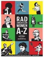 Cover art for Rad American Women A-Z by Kate Schatz