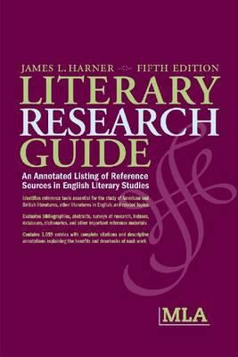 book cover Literary Research Guide