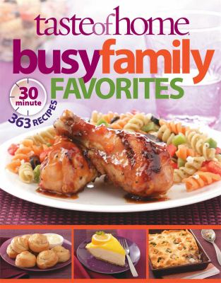 Details about Taste of home busy family favorites