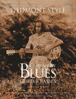 Piedmont Style Country Blues Guitar Basics by Turner, Valerie © 2017 (Added: 11/1/17)