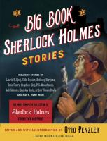 Cover art for The Big Book of Sherlock Holmes Stories