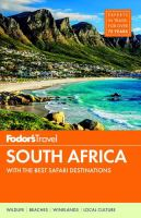 Fodor's South Africa by Baranowski, Claire © 2015 (Added: 9/6/17)