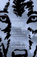 Cover Art for American Wolf