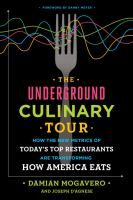 Cover art for The Underground Culinary Tour