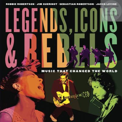 Cover image for Legends, icons & rebels