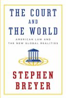 Cover of The Court and the World