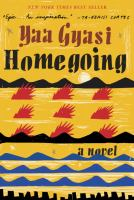 Cover art for Homegoing