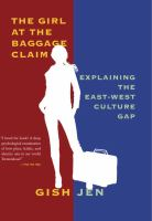 Cover art for The Girl at the Baggage Claim