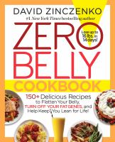 Cover of Zero Belly Bookbook