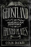 Cover art for Ghostland