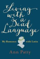 Cover art for Living With a Dead Language