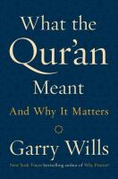 Cover art for What the Qur'an Meant