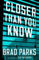 Cover art for Closer than You Know