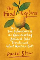 Cover art for The Food Explorer