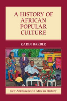 cover of a history of African popular culture
