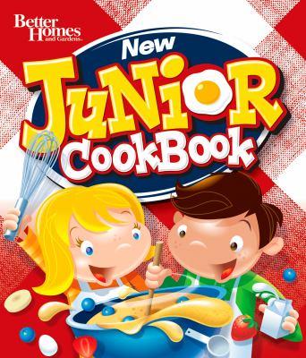 cover photo: New Junior Cookbook