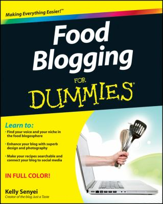 cover photo: Food Blogging for Dummies