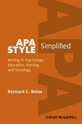 Cover of APA Style Simplified eBook