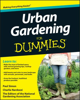 Cover image for Urban gardening for dummies