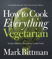 Cover art for How to Cook Everything Vegetarian