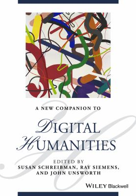 Book cover of A New Companion to Digital Humanities