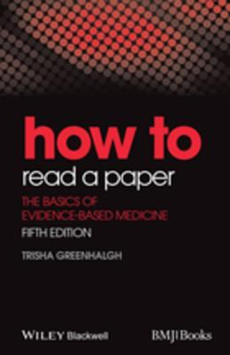 Book cover links to How to read a paper by Greenhalgh