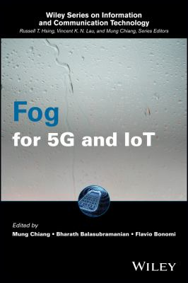 Book cover: Fog for 5G and IoT