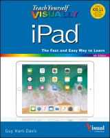Teach Yourself Visually Ipad by Hart-Davis, Guy © 2018 (Added: 5/14/18)