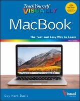 Teach Yourself Visually Macbook by Hart-Davis, Guy © 2018 (Added: 5/14/18)